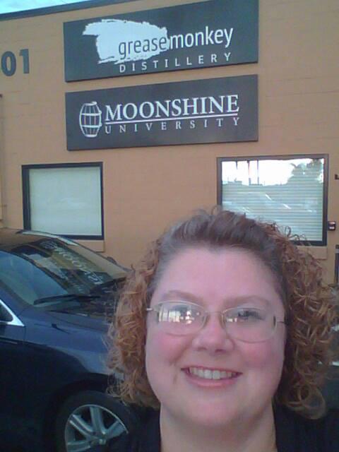 Here's me at Moonshine University!