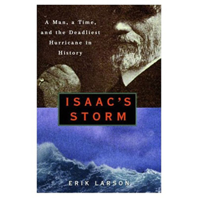 a review of isaac storm Xem video a book group at the ashburn branch of the loudoun county public library talked about erik larson's book, [isaac's storm: a man, a time, and the deadliest.